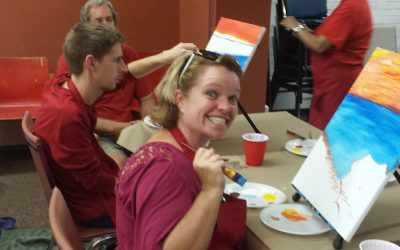 Amgios Paint Event smiles 2
