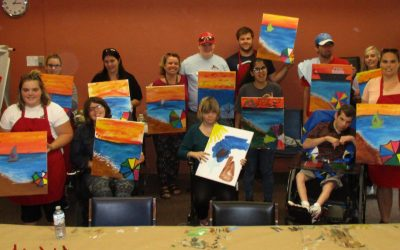 Group Paint lunch and learn